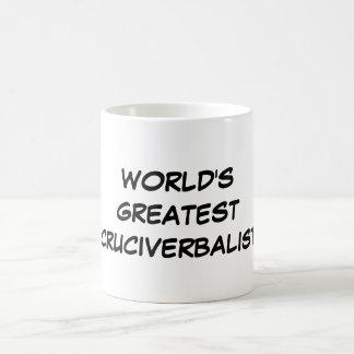 """World's Greatest Cruciverbalist"" Mug"