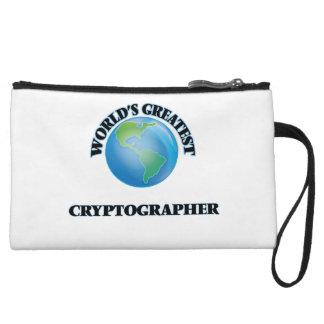World's Greatest Cryptographer Wristlet Purse