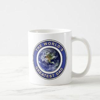 Worlds greatest Dad Basic White Mug