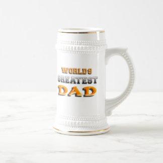 World's Greatest Dad Beer Steins