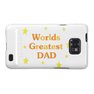 Worlds Greatest Dad Galaxy S2 Covers
