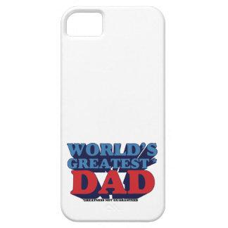 World's Greatest* Dad iPhone 5 Case