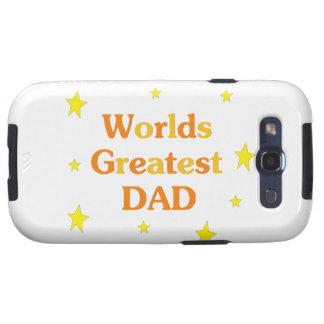 Worlds Greatest Dad Samsung Galaxy S3 Case