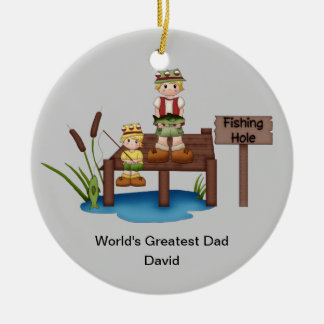World's Greatest Dad Christmas Ornament