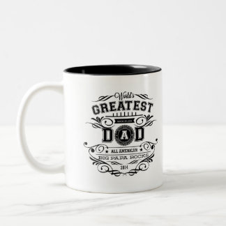 "WORLD'S Greatest DAD - Coffee MUG - FATHER""S DAY"