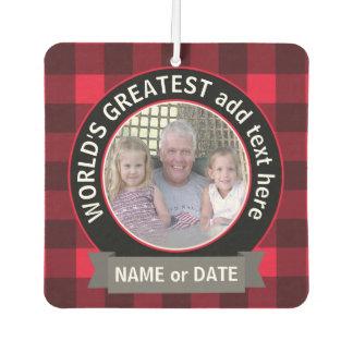 World's Greatest Dad Grandpa Custom Photo Template