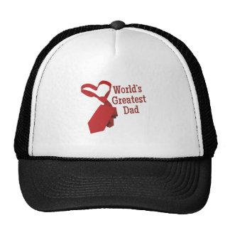 Worlds Greatest Dad Mesh Hat