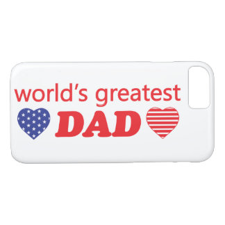 WORLDS GREATEST DAD iPhone 8/7 CASE