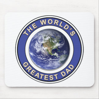 Worlds greatest Dad Mouse Mat
