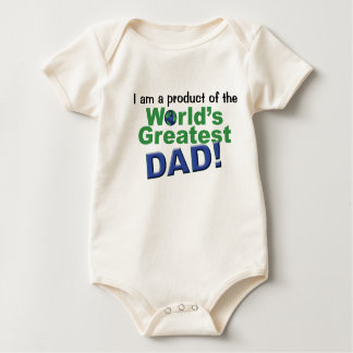 Worlds Greatest Dad Product Baby Bodysuit