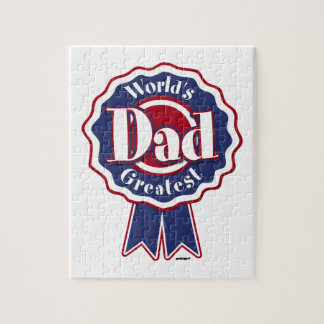 World's Greatest Dad - ribbon Puzzles
