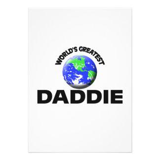 World's Greatest Daddie Personalized Invitation