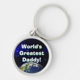 World's Greatest Daddy! Keychain