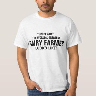 World's greatest Dairy farmer looks like T-Shirt