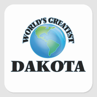 World's Greatest Dakota Stickers