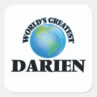 World's Greatest Darien Stickers
