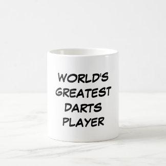 """World's Greatest Darts Player"" Mug"