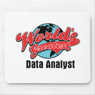 Worlds Greatest Data Analyst Mouse Mat