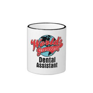 Worlds Greatest Dental Assistant Ringer Mug