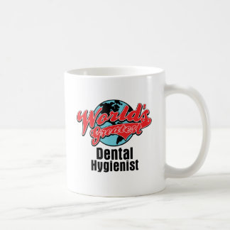 Worlds Greatest Dental Hygienist Basic White Mug