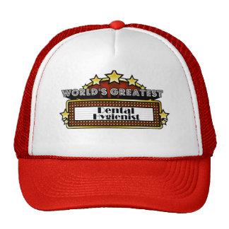 World's Greatest Dental Hygienist Hats