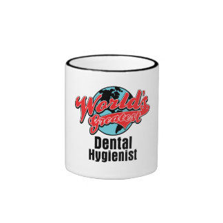 Worlds Greatest Dental Hygienist Ringer Mug