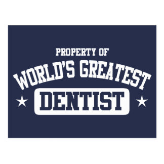 World's Greatest Dentist Post Cards