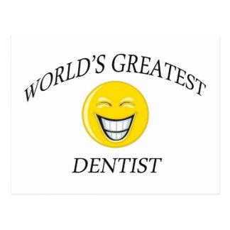 World's Greatest Dentist Postcard