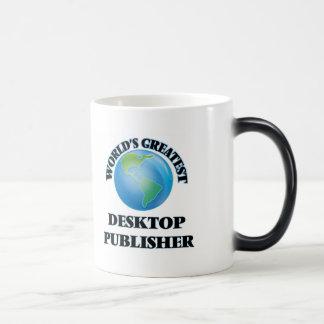 World's Greatest Desktop Publisher Coffee Mugs