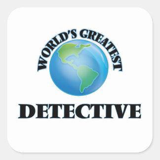 World's Greatest Detective Sticker