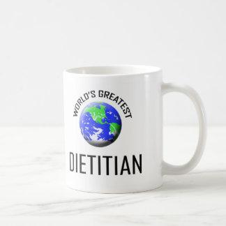 World's Greatest Dietitian Basic White Mug