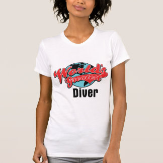 Worlds Greatest Diver T Shirts