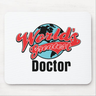 Worlds Greatest Doctor Mouse Mat