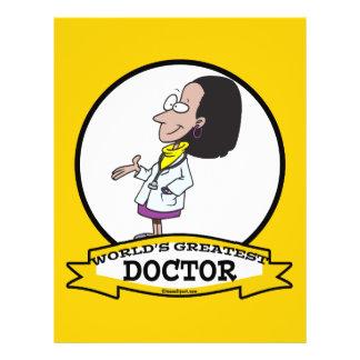WORLDS GREATEST DOCTOR WOMEN II CARTOON FLYERS