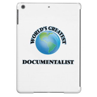World's Greatest Documentalist Cover For iPad Air