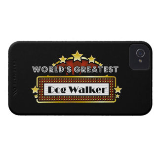 World's Greatest Dog Walker Case-Mate iPhone 4 Case