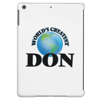 World's Greatest Don iPad Air Cases