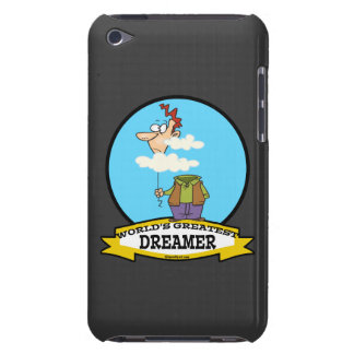 WORLDS GREATEST DREAMER MEN CARTOON BARELY THERE iPod COVERS