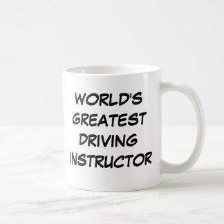 """World's Greatest Driving Instructor""  Mug"
