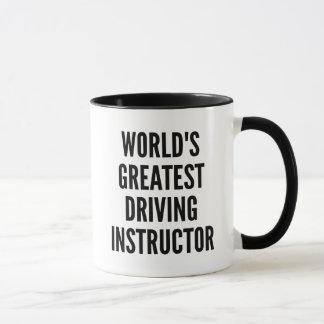 Worlds Greatest Driving Instructor Mug