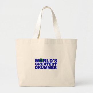 World's Greatest Drummer Tote Bag