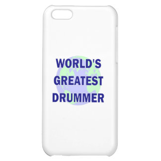 World's Greatest Drummer Case For iPhone 5C