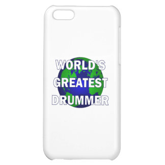 World's Greatest Drummer Cover For iPhone 5C