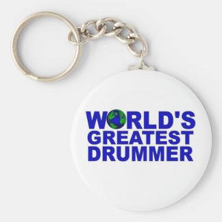 World's Greatest Drummer Key Chain