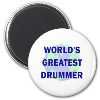 World's Greatest Drummer Magnets