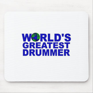 World's Greatest Drummer Mouse Pad