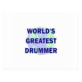 World's Greatest Drummer Postcards