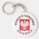 World's Greatest Dziadzia Key Chain