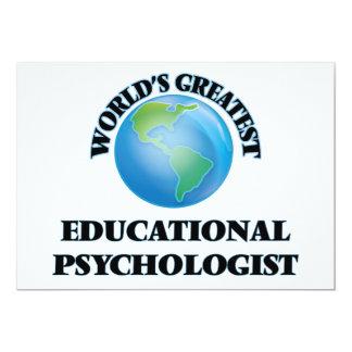 World's Greatest Educational Psychologist Announcement