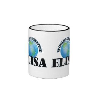 World's Greatest Elisa Coffee Mugs